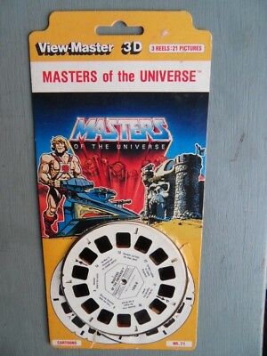 Viewmaster Masters of the Universe 1981 Pack 21 3D pics from TV Show