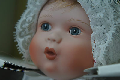 Vintage Doll Knowles Catherine's Christening Baby Doll Book Treasure Series