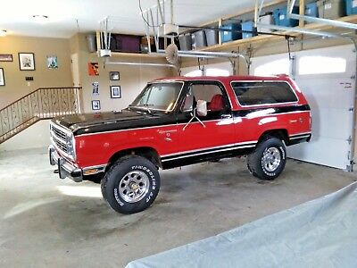 1980 Dodge Ramcharger Royal SE 1980 Dodge Ramcharger 4x4, Royal SE model, Rare ROUND-UP edition.
