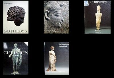 5 Christies & Sotheby's Antiquities Auction Catalogs B-38