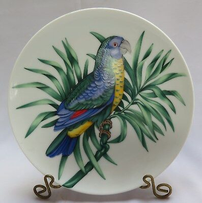 Fitz And Floyd 'Perroquet' Porcelain Parrot Collector Plate