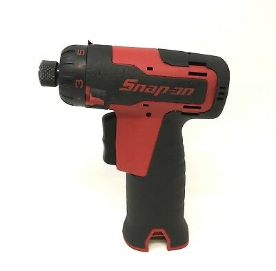 Red Cts661 Snapon 7.2V Cordless Screw Gun  Screwdriver    2-3 Day Delivery