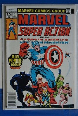 Marvel Super-Action # 1 {Captain America # 100} : Very Fine: May 1977