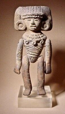 Pre-Columbian Articulated Teotihuacan  Personage Ex Sotheby '80