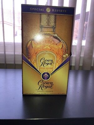 Crown Royal Special Reserve Whiskey Limited Edition Velvet Lined Collector's Box