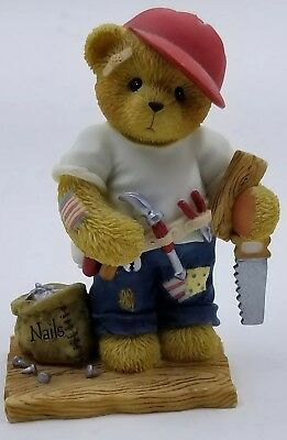 "Cherished Teddies ""You Hold Everything In Place"" Woody 1999 #476544"