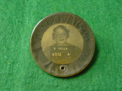 WW2 Era Simmons Company ID Badge with Photo and ID Number
