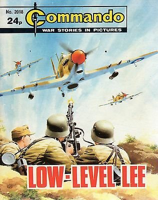 1986  No 2018  80519 Commando Comic War Stories In Pictures  LOW LEVEL LEE