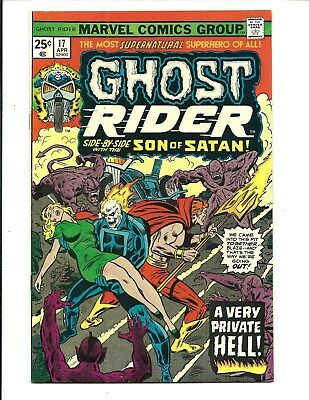 GHOST RIDER (Vol.1) # 17 (CENTS ISSUE, APR 1976), VF