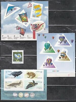 Canada Booklet Stamps - Various 13