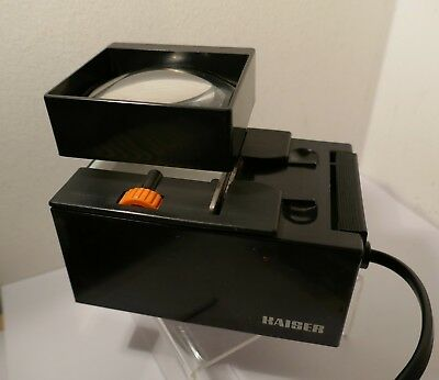 KAISER Typ 2101 , 35mm FILM EDITOR / CUTTER for PREPPING YOUR SLIDES ETC