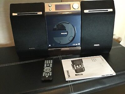 Phillips Hi-fi System DAB USB FM CD Wall Mounted MP3 Player