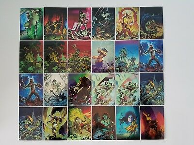Conan Ii All Chromium 90 Card Set + 6 Card Prism Set + Variations 1994