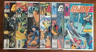G I Joe Comic Lot, Hard To Find Later Issues