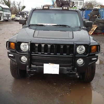 2006 Mean Looking Hummer H3 3.7 Petrol 5 Speed Manual in Black. Left Hand Drive.
