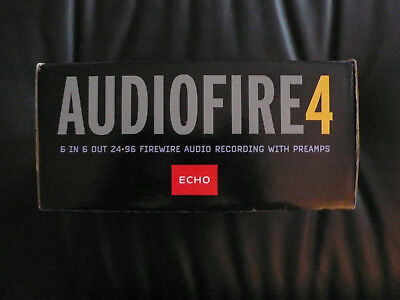 Echo Audiofire 4 Audio Interface High End Wandler mit Midi