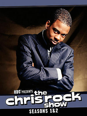 The Chris Rock Show Seasons 1 & 2 - 3 Disc Set (New & Sealed Dvd) Free Shipping