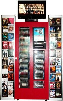 Business Opportunity/ Movie and Game Rental & Sales Kiosk with movies
