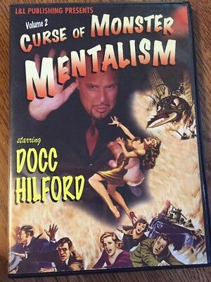 Curse Of Monster Mentalism Volume 2 by Docc Hilford  Magic DVD