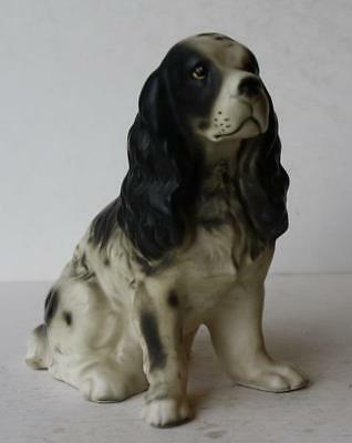 Welsh Springer Spaniel Dog Figurine Ceramic-Porcelain Made in Japan-Hand Painted