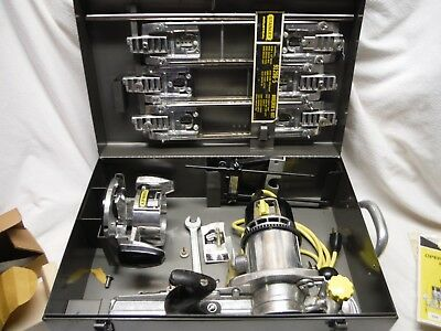 Stanley Modern Router Kit And Accessories With Metal Box Manual #91258
