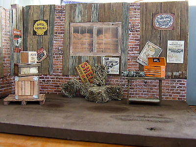 27 items, accessories for diorama 1/24 1/25 die cast cars Collect.