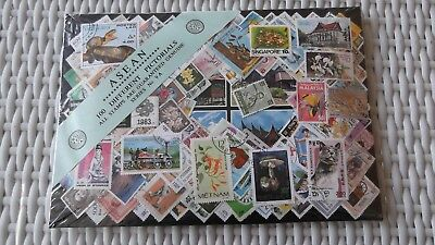 HPA - ASEAN - 100 different pictorials stamps pack Series No 9A