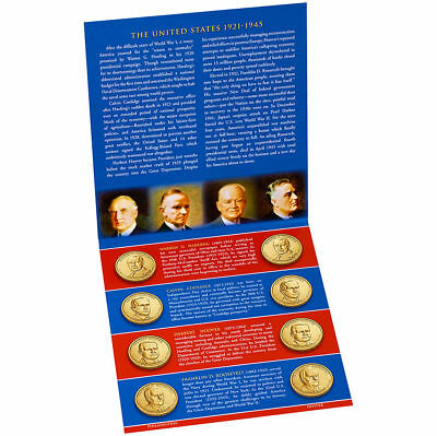 2014 PRESIDENTIAL $1 P&D UNCIRCULATED SET * SEALED * ALL 8 Coins US Mint BU COA