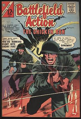Charlton Comic Book Battlefield Action  July 1965 Fine or Better OW/White Pgs