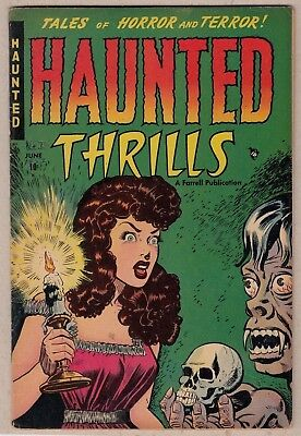 HAUNTED THRILLS #1 (Farrell-1952) FN * Great Book! Very Nice! -combine ship