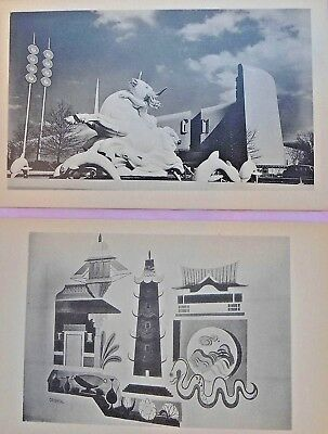 Historical New York's Worlds Fair 1939-1940 Lot of 53 New Postcards