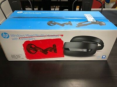 HP Mixed Reality Headset With Controllers VR Virtual Reality - BRAND NEW