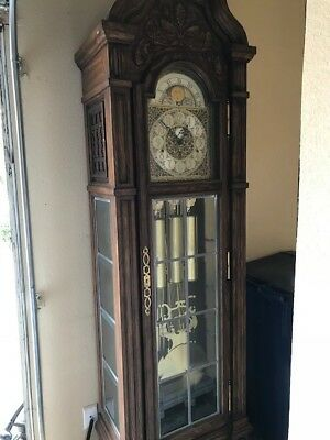 Good looking Trend Grandfather clock, sounds and runs great!