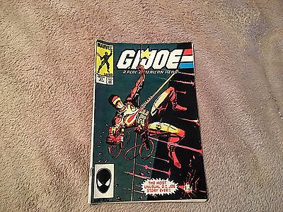 Gi Joe A Real American Hero #21 1St Storm Shadow Silent Issue