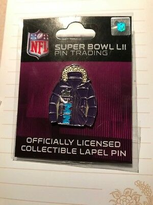 Super Bowl 52 LII 2018 PARKA NFL Lapel trading pin - Sealed Pkg - WinCraft