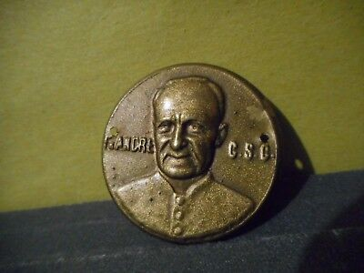 Saint Andre of Montreal,Brother,St. Joseph Oratory,Madallion,Medal,Relic