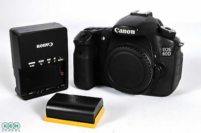 Canon 60D 18.1MP Digital Camera Body