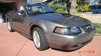 2002 Ford Mustang  2002 Ford Mustang GT Convertible VIN # 1FAFP45X42F111191