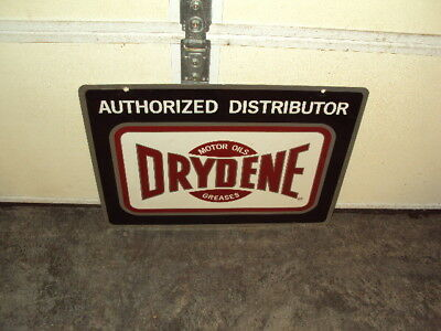 Original Drydene Metal Double Sided Not Reproduction