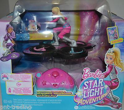 Barbie Star Light Adventure dlv45 RC Hoverboard Quadrocopter Drone NEW