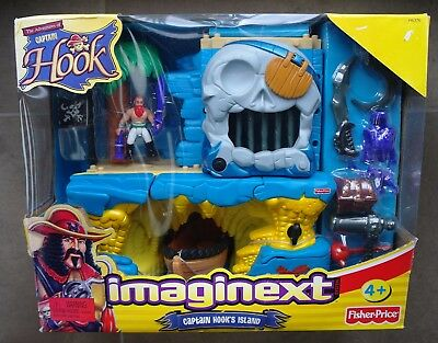 Fisher Price Imaginext Captain Hook's Island New/damaged Box