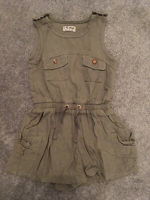 girls next 2-3 years Khaki Romper