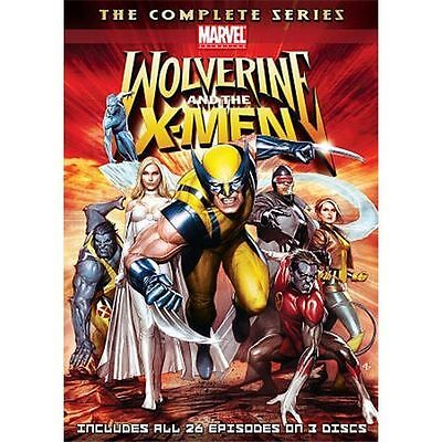 Wolverine and the X-Men: Complete Series (3-Disc Set) - DVD Like New free S&H?