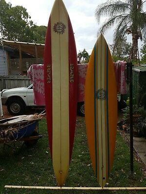 "YELLOW DICK BREWER GUN 7' 6"" mid 70S made in Hawaii, excellent condition"