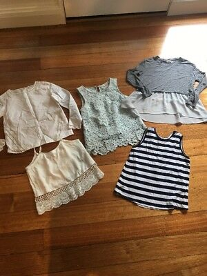 Bulk Lot Of Girls Tops Size 8, Bardot Jnr, Pavement, Indi Kids, Exc Cond