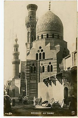 Egypt-MOSQUEE AU CAIRE,RPPC.POSTED 1908-e-k44