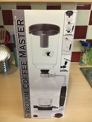 Coffee Syphon / Vacuum Pot 5-Cup Coffee Maker Siphon UK