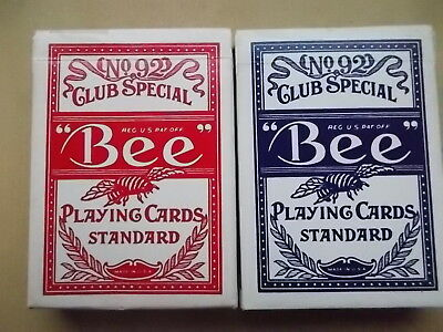 2 Pack Bee Playing Cards Standard No 92 Hotel Casino Circus Cirkus Las Vegas