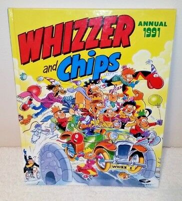 WHIZZER AND CHIPS ANNUAL 1991 (Fleetway, unclipped) ***VGC*** GREAT VALUE