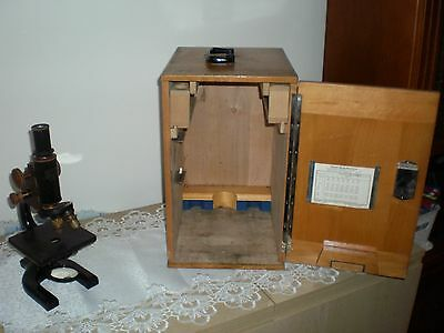 Vintage Antique Spencer Buffalo Microscope
